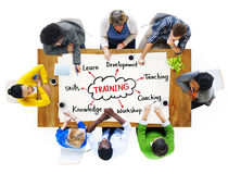 Diverse People and Training Concepts.  Royalty Free Stock Photo