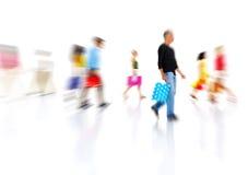 Diverse People Walking Royalty Free Stock Image