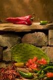 Diverse Peper van de Spaanse peper Royalty-vrije Stock Afbeelding