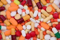 Diverse Pillen Stock Afbeelding