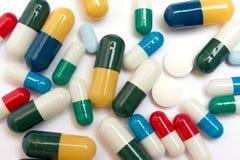 Diverse Pillen Stock Afbeeldingen