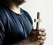 Diverse religious shoot. African  concept Stock Photography