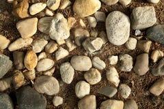 Diverse rotsen Stock Afbeeldingen