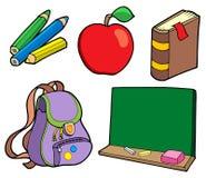 Diverse schoolpunten Stock Fotografie