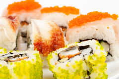A diverse selection of delicious Japanese Stock Photo
