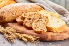 Diverse soorten brood Royalty-vrije Stock Foto's