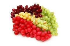 Diverse soorten druiven Stock Foto