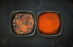 Diverse soorten kruiden Stock Foto's