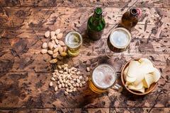Diverse sorte de bière Photos libres de droits