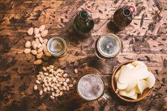 Diverse sorte de bière Images stock