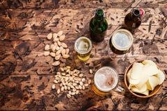Diverse sorte de bière Photographie stock