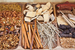 Diverse spices in Asia Stock Photo