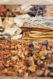 Diverse spices in Asia Royalty Free Stock Images
