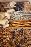 Diverse spices in Asia Stock Image