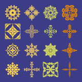 Diverse styles of Geometric Style Symbol Sets. Original Pattern Royalty Free Stock Photo