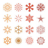 Diverse styles of  Grid Symbol Sets. Original Pattern and Symbol Stock Images