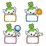 Diverse styles of Lucky Fairy Mascot Sets. Nature Character Desi Stock Images