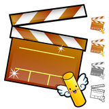 Diverse styles of Slate and Movie Sets. Household Items Vector I Stock Images