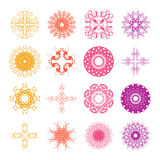 Diverse styles of Wave Symbol Sets. Original Pattern and Symbol Stock Photos