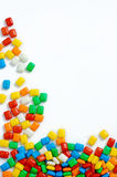 Diverse sucrerie colorée Photographie stock