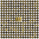 diverse symboler Fotografering för Bildbyråer