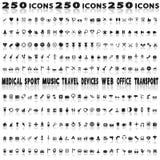 diverse symboler Arkivbilder