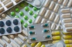 Diverse tabletpakken Stock Afbeelding