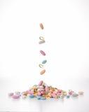 Diverse tabletten Stock Foto