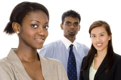 Diverse Team. A diverse young business team Stock Photos