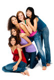 Diverse Teenagers Royalty Free Stock Photos