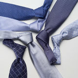 Diverse ties Royalty Free Stock Images
