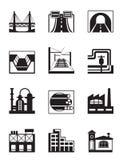 Diverse types van bouw Royalty-vrije Stock Afbeelding