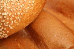 Diverse types van brood royalty-vrije stock foto's