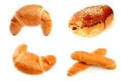 Diverse types van brood royalty-vrije stock foto