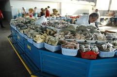 Diverse types van kruiden in de bazaar van Yerevan markt, Armenië Stock Fotografie