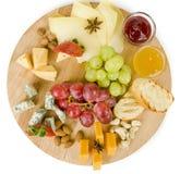Diverse types van snack royalty-vrije stock foto