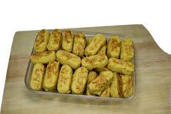 Diverse typische gebakjes van Eid al-Fitr in Indonesi? royalty-vrije stock afbeelding