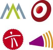 diverse vektor för logoer vektor illustrationer