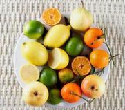 Diverse Vruchten Mengeling Royalty-vrije Stock Foto's