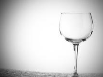 Diverse wijnglazen royalty-vrije stock foto