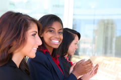 Diverse Woman Business Team Royalty Free Stock Photos