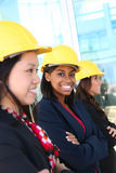 Diverse Woman Construction Team Royalty Free Stock Image