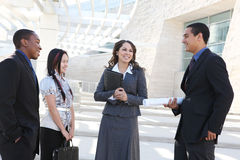 Diverse Young Business Team Stock Images