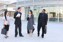 Diverse Young Business Team Royalty Free Stock Photo