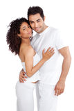 Diverse Young Couple Stock Photography