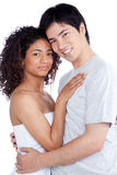 Diverse Young Couple Stock Image