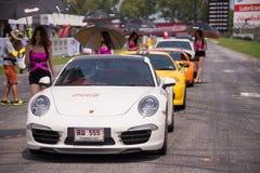 Diverse zitting van de raceauto'skwalificatie Stock Foto's