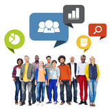 Diversed People with Leadership Characteristics.  Royalty Free Stock Photo