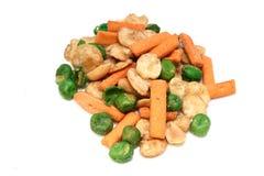 Diverses arachides salées Images stock