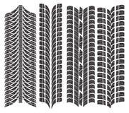 Diverses bandes de roulement de pneu Photos libres de droits